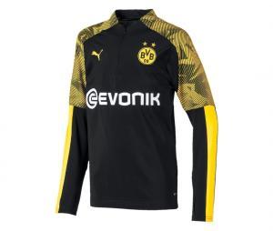 Training top Borussia Dortmund Noir/Jaune Junior