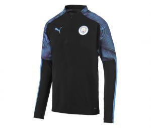 Training top Manchester City Noir/Bleu