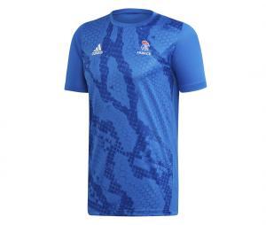 Maillot Entraînement Handball France FFHB Bleu