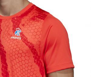 Maillot Entraînement Handball France FFHB Rouge
