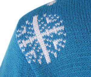 Kid's OM Blitzen Pullover Blue