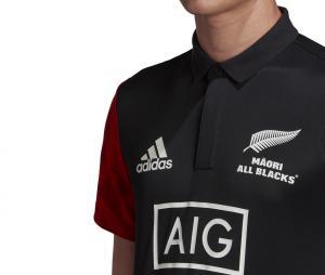 Polo Maori All Blacks Noir