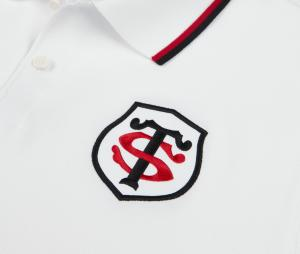 Polo Stade Toulousain Blanc