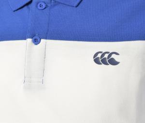 Polo Canterbury Waima Bleu/Blanc