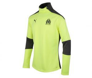 Camiseta manga larga futbol OM Fleece Amarillo