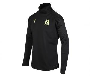 Camiseta manga larga futbol OM Fleece Negro
