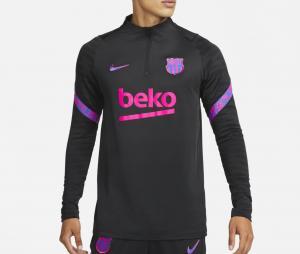 Training Top Barça Strike Noir
