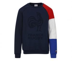 Sweat-shirt France FFR Bleu Junior