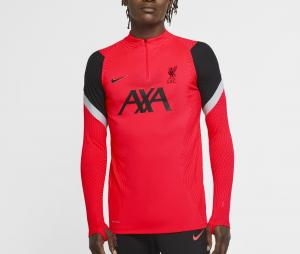 Training top Liverpool VaporKnit Strike Rouge