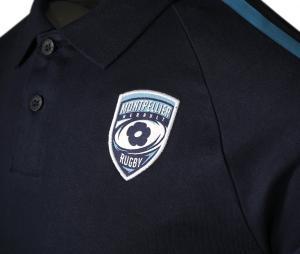 Polo Montpellier Herault Rugby Garigliano Bleu