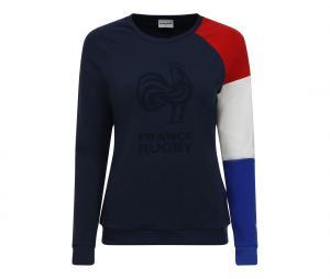Sweat-shirt France FFR Bleu Femme
