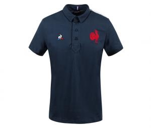 Polo France Rugby Présentation Bleu
