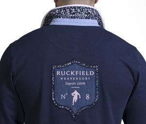 Polo Manches Longues Ruckfield Bleu