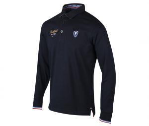 Polo Manches Longues Ruckfield France Bleu