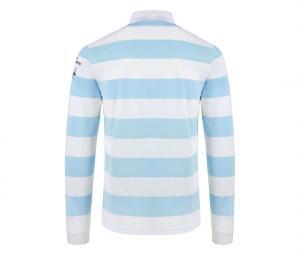 Polo Manches Longues Racing 92 Blanc/Bleu