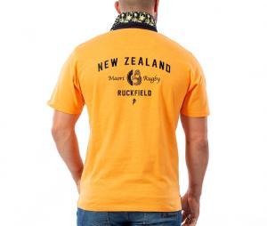 Polo Ruckfield Maori Orange