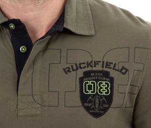 Polo Manches longues Ruckfield Rugby Camp Vert