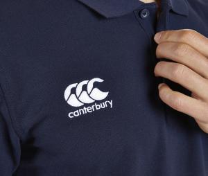 Polo Canterbury Waimak Bleu