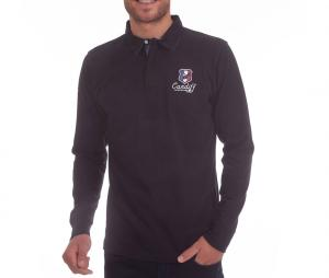 Polo Manches Longues Camberabero Cardiff Noir