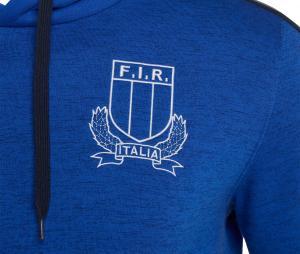 Sweat à capuche Italie Bleu