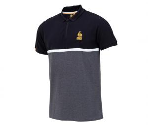 Polo France Lifestyle Gris/Noir
