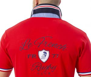 Polo Ruckfield Rouge
