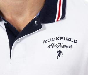 Polo Ruckfield Blanc