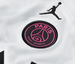 Maillot Entraînement Jordan x PSG Strike Blanc/Rose