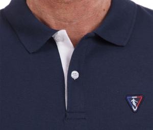 Polo Camberabero Rugby Heritage Bleu/Rose