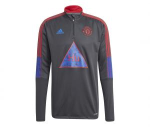 Training Top Manchester United Human Race Gris
