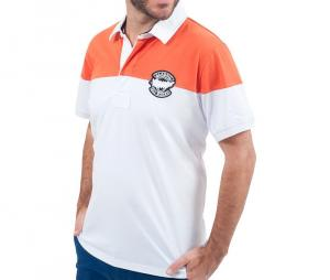 Polo Classic All Blacks NZ Blanc/Orange
