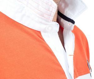 Polo Blacks Legend NZ Blanc/Orange