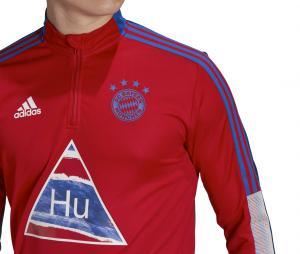 Training Top Bayern Munich Human Race Rouge/Bleu