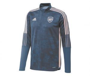 Training Top Arsenal Graphic Bleu