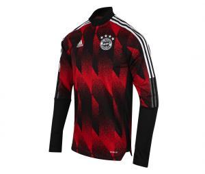 Training Top Bayern Munich Noir/Rouge