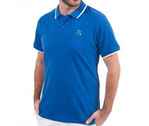 Polo piqué Classic All Blacks NZ Bleu