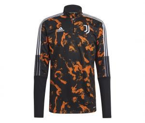 Training Top Juventus Graphic Noir/Orange