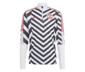 Training Top Manchester United Graphic Blanc/Noir