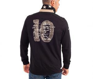 Polo Manches Longues All Blacks + Boite Collector Noir