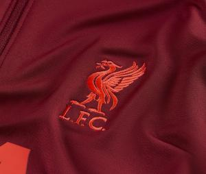 Training Top Liverpool Strike Rouge