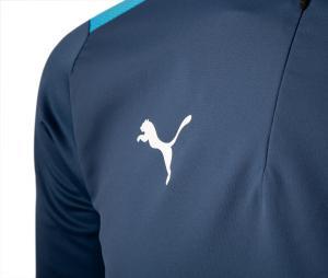 Camiseta manga larga fútbol OM Pro Azul
