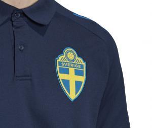 Polo Suède Bleu