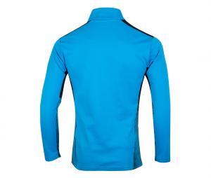 OM Quarter Zip Football Top Blue/Black