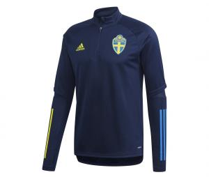 Training Top Suède Bleu