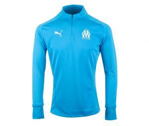 Camiseta manga larga futbol OM Fleece Azul