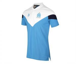 OM Iconic Polo  Blue/White