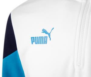 Camiseta manga larga fútbol OM Culture Blanco