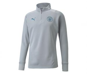 Training Top Manchester City Fleece Gris