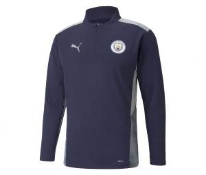 Training Top Manchester City Bleu