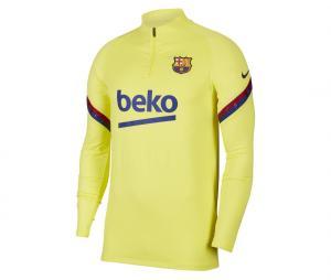 Training top Barça Strike Drill Jaune